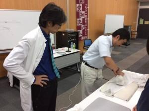 第二回岩倉洗濯講座開催