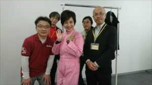 中京テレビ「ぐっと」の収録へ行ってきました。